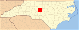 North Carolina Map Highlighting Randolph County.PNG