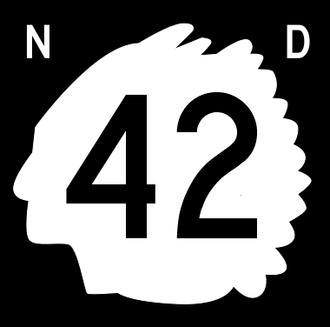 Divide County, North Dakota - Image: North Dakota 42