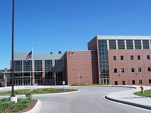 Northeast Wisconsin Technical College - Student Center at the main campus in Green Bay