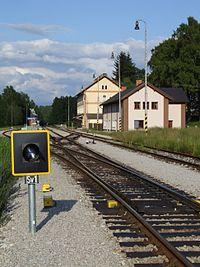 Nová Pec (Neuofen) - železniční stanice.JPG