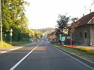 D3 road (Croatia) - Novi Marof, on the D3 route