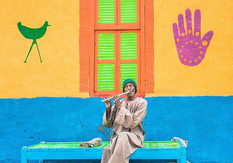 File:Nubian flute player.jpg