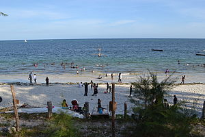 Nyali Beach from the Reef Hotel during high tide in Mombasa, Kenya 38.jpg