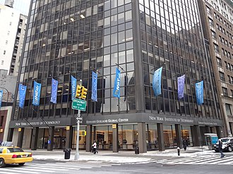 New York Institute of Technology - Edward Guiliano Global Center, 1855 Broadway, Manhattan