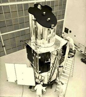 Orbiting Astronomical Observatory - OAO-3 in the clean room