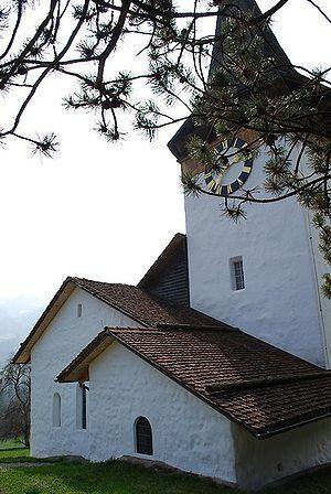 Oberwil im Simmental - Village church in Oberwil