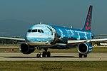 "OO-SNC Airbus A320-214 A320 - BEL ""Magritte"" (29890126892).jpg"