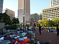 Occupy Baltimore at McKeldin Square October 2011 (Daytime.JPG