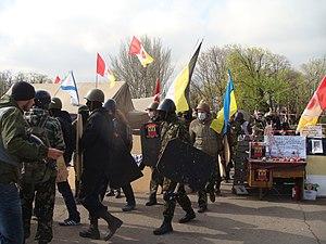 2014 Odessa clashes - Image: Odessa Russian Sring 20140413 09