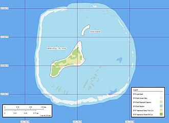 Oeno Island - Map of Oeno Island