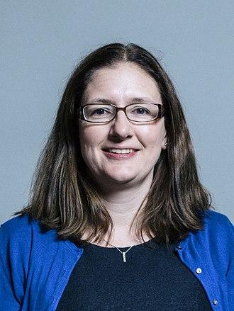 Caroline Johnson - Image: Official portrait of Dr Caroline Johnson crop 2
