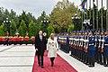 Official welcoming ceremony was held for Croatian President Kolinda Grabar-Kitarovic 14.jpg