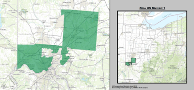 Ohio's 1st congressional district - since January 3, 2013.