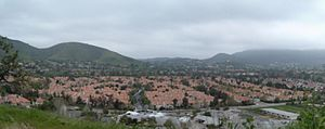 Oak Park, California - Panorama of Oak Park and the Simi Hills
