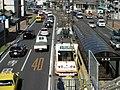 Okayama Electric Tramway Seikibashi Tram Stop - panoramio (2).jpg