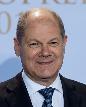 Chancellor of Germany (1949–present) - The current Vice Chancellor Olaf Scholz