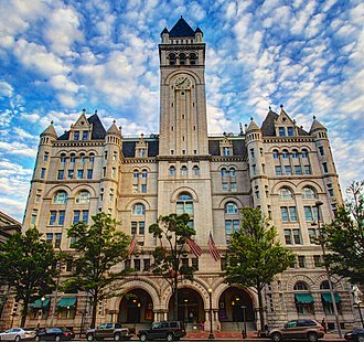 Old Post Office (Washington, D.C.) - The Old Post Office Building in 2012