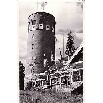 Puijo tower - Image: Old Puijo tower