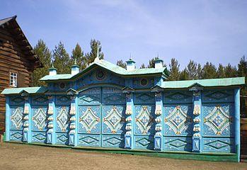 Ворота сельских домов ворота пмс