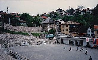 Vratnik (Sarajevo) - Image: Old city wall (4686345048)