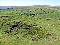 Old mine spoil heaps above Sedling Burn (2) - geograph.org.uk - 1438641.jpg