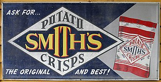 Potato chip - An advertisement for Smith's Potato Crisps