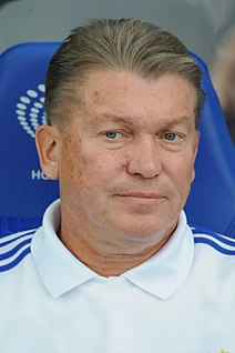 Oleg Blokhin Ukrainian footballer and manager
