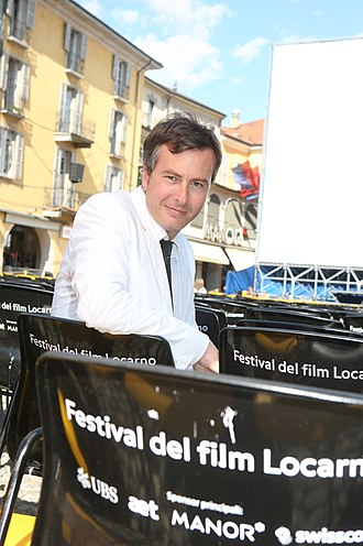 Olivier Père - Olivier Père at the Festival del film Locarno in Piazza Grande (Locarno)