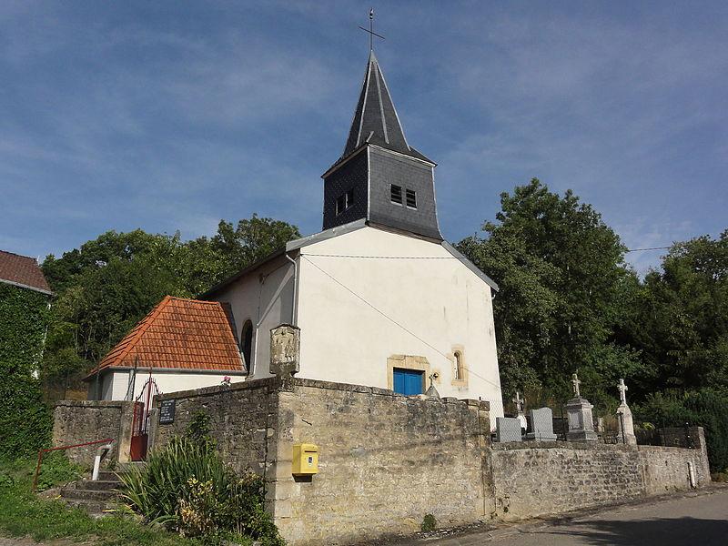 Ollières (Spincourt, Meuse) église
