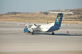 Olympic Air SX-BIO in Athens.JPG