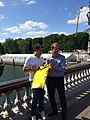Olympic Days Paris June 2017 - Tony Estanguet and Christian Prudhomme.jpg