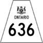 Highway 636 shield