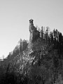 Orava Castle, Slovakia - Black and white.jpg