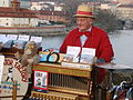 Orchestrion player, Charles Bridge, Prague 2006.jpg