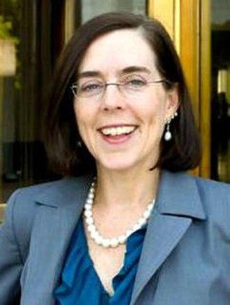 2016 Oregon gubernatorial special election - Image: Oregon Secretary of State Kate Brown, cropped (cropped)