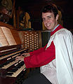 Organist Alistair Nelson.JPG