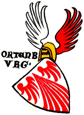 Counts of Ortenburg - Ortenburg coat of arms, c. 1335/1345