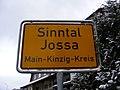 Ortsschild Sinntal Jossa.JPG