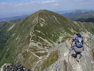 Volovec (Tatra) - Image: Ostry Rohacz a 1