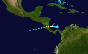 Hurricane Otto - Image: Otto 2016 track