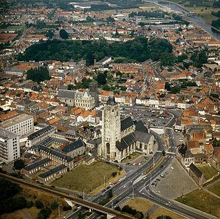 Oudenaarde Municipality in Flemish Community, Belgium