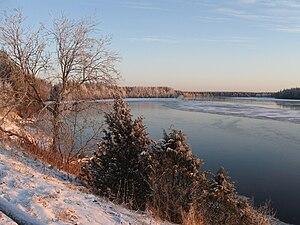 Kainuu - Image: Oulujoki at Lamminaho