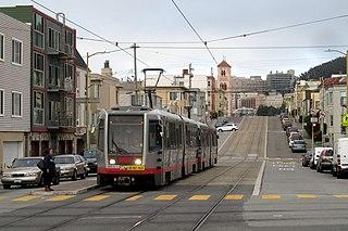 N Judah San Francisco light rail line