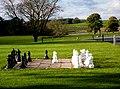 Outdoor chess anyone^ - geograph.org.uk - 2146012.jpg