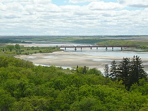Outlook, Saskatchewan - Highway 15 bridge