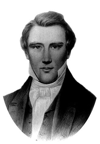 History of The Church of Jesus Christ of Latter-day Saints - Image: Ovalportrait josephsmith Carter