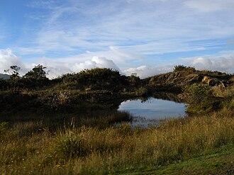 Chipaque - Image: Páramo de Cruz Verde