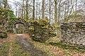 Pörtschach Burgruine Leonstein NW-Tor zum äußeren Hof 13042019 6437.jpg
