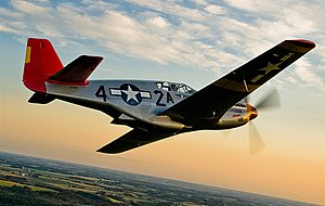 Red Tail Squadron - Image: P 51C 18