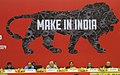 PM Modi at thes at the concluding session of the National Workshop on Make in India.jpg